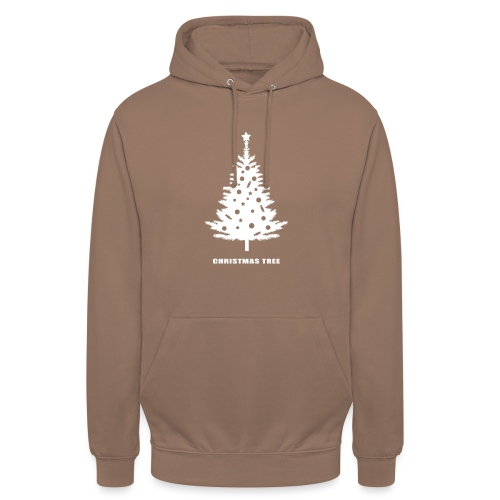 christmas tree, christmas, new year, rockefeller - Unisex Hoodie