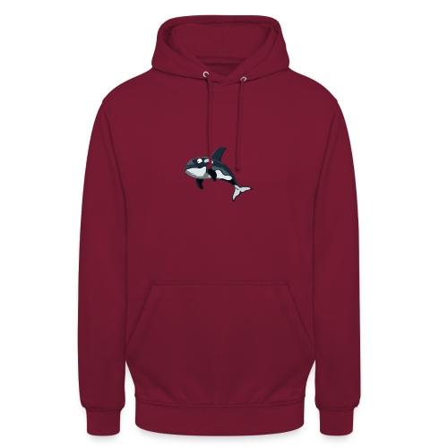 Lustiger orca - Unisex Hoodie