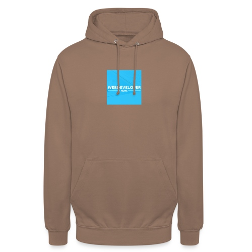 Web developer News - Unisex Hoodie