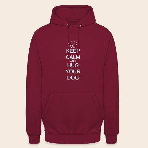 embrasse ton chien - Sweat-shirt à capuche unisexe