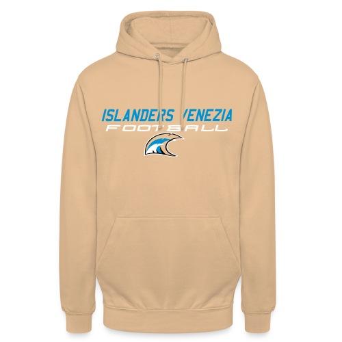 islanders football new logo - Felpa con cappuccio unisex