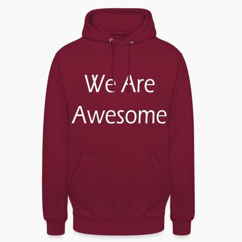 WAA w sf - Sweat-shirt à capuche unisexe