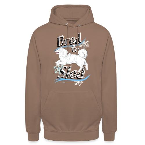 """Samoyed Sled - Huppari """"unisex"""""""