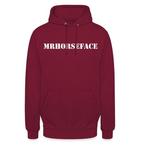 MrHorseFace - Hoodie unisex