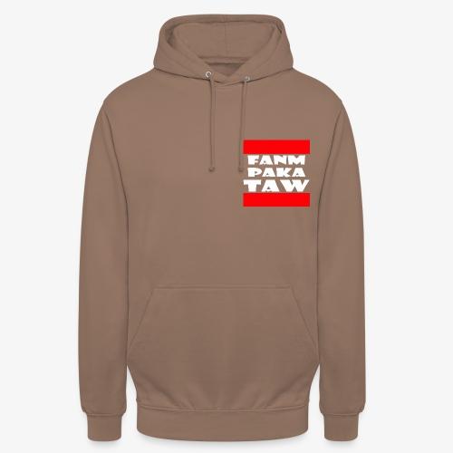 fanm paka taw - Sweat-shirt à capuche unisexe