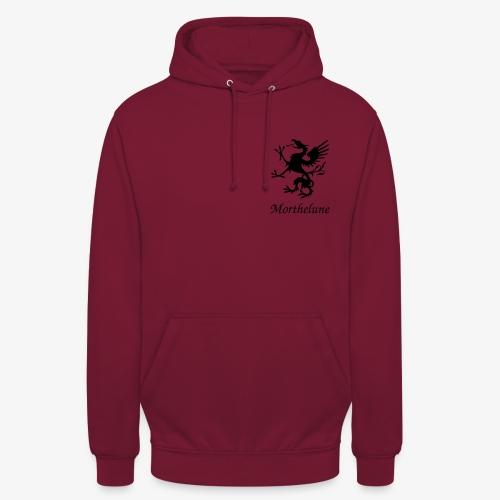 Griffon Morthelune - noir - Sweat-shirt à capuche unisexe