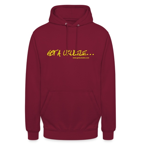 Official Got A Ukulele website t shirt design - Unisex Hoodie