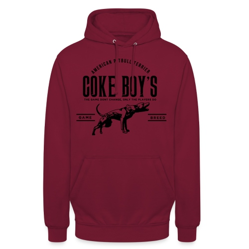 coke boys knl - Sweat-shirt à capuche unisexe
