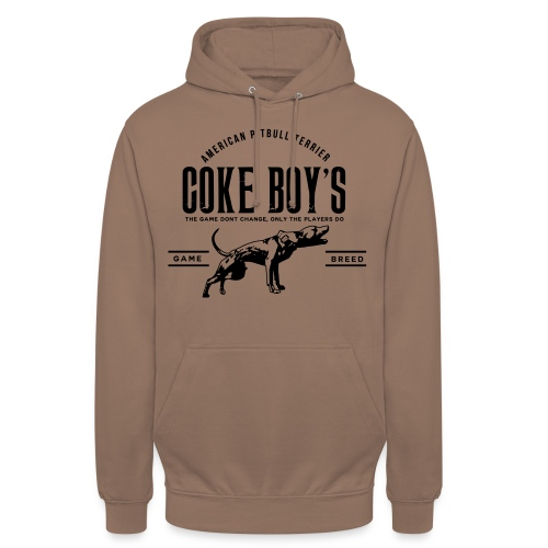 coke boys knl - Sweat-shirt à capuche unisexe