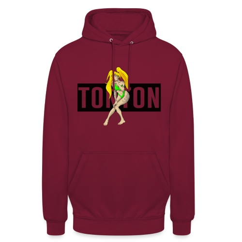 TONTON GIRLINK - Sweat-shirt à capuche unisexe