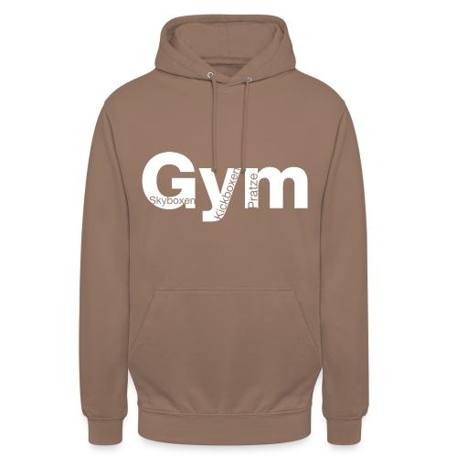 Gym weiß - Unisex Hoodie