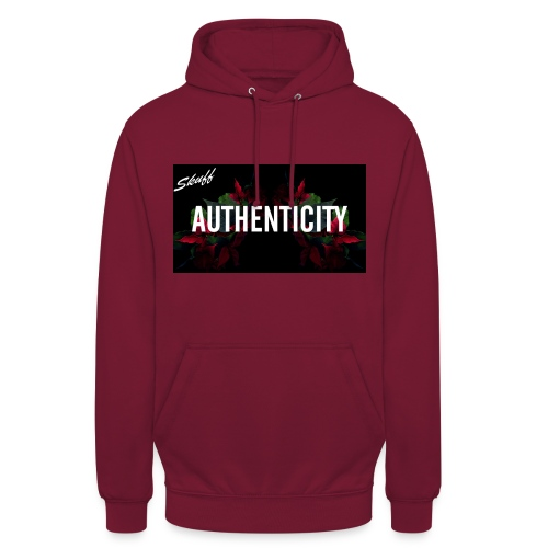 Authenticity - Sweat-shirt à capuche unisexe