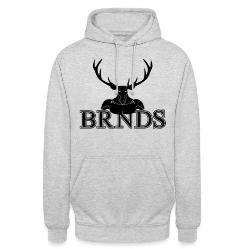 BRNDS - Felpa con cappuccio unisex