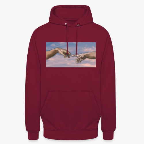 Hand of God png - Unisex Hoodie
