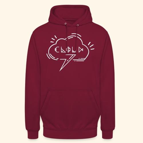 logo-cloud-b-3 - Sweat-shirt à capuche unisexe