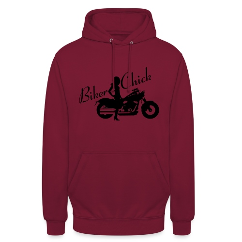 "Biker Chick - Custom bike - Huppari ""unisex"""