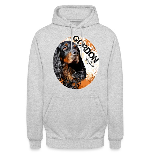 "Gordon Setter Splash - Huppari ""unisex"""