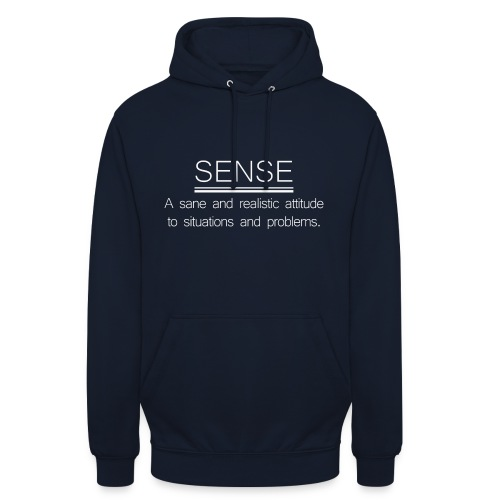 SENSE - Sweat-shirt à capuche unisexe