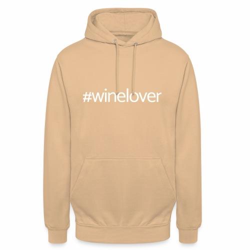 Winelover hashtag - Unisex Hoodie