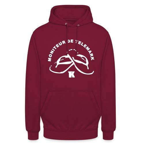 Moniteur Telemark - Sweat-shirt à capuche unisexe