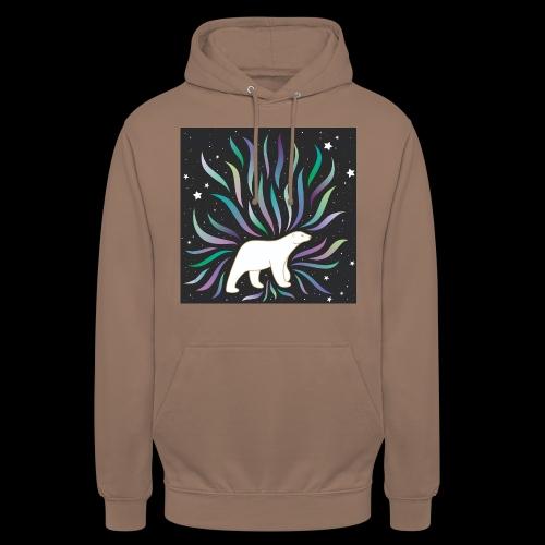polar ours - Sweat-shirt à capuche unisexe