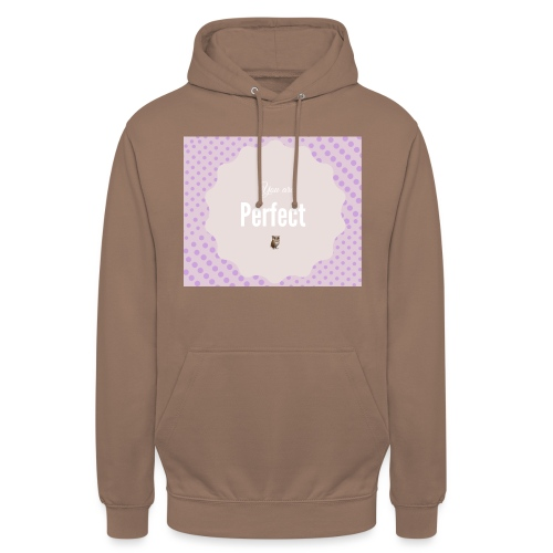 You are perfect - Sudadera con capucha unisex
