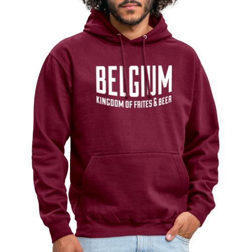 Belgium kingdom of frites & beer - Sweat-shirt à capuche unisexe