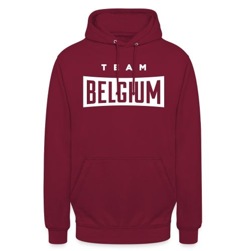 Team Belgium - Belgique - Belgie - Sweat-shirt à capuche unisexe