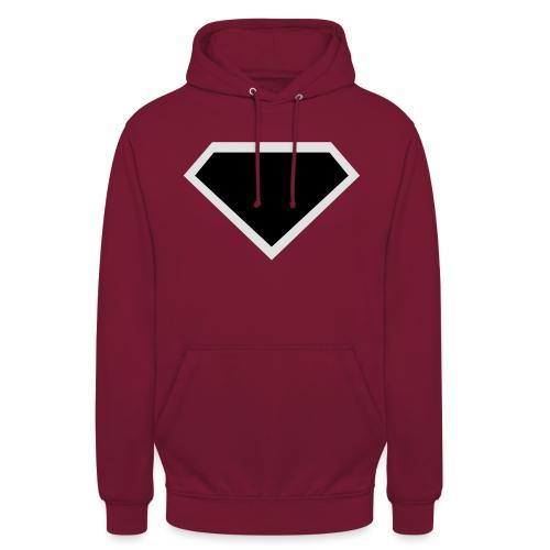 Diamond Black - Two colors customizable - Hoodie unisex
