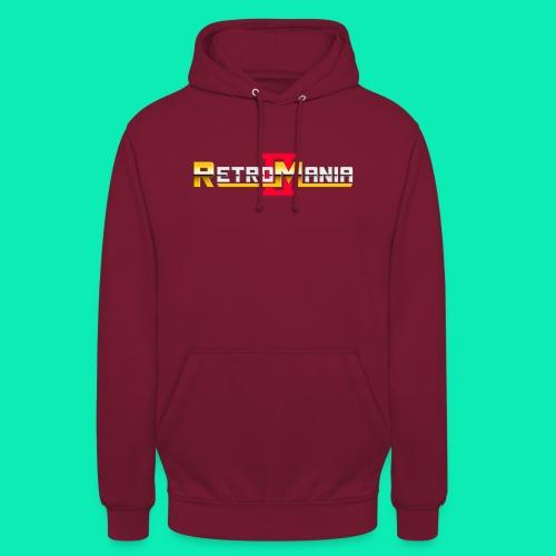 Retro Mania II - Logo - Unisex Hoodie