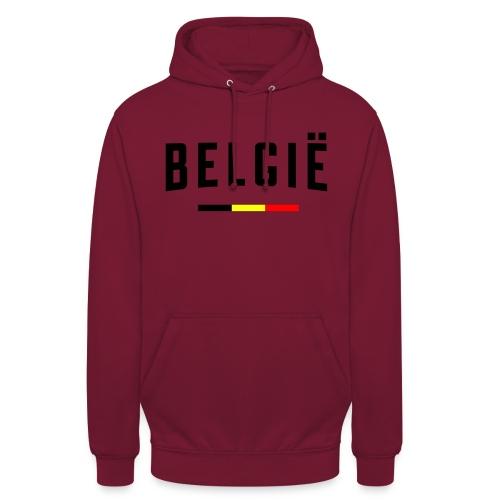 België - Belgique - Belgium - Sweat-shirt à capuche unisexe