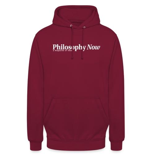 Philosophy Now logo - Unisex Hoodie