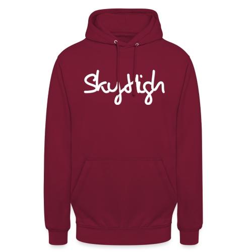 SkyHigh - Men's Premium Hoodie - White Lettering - Unisex Hoodie