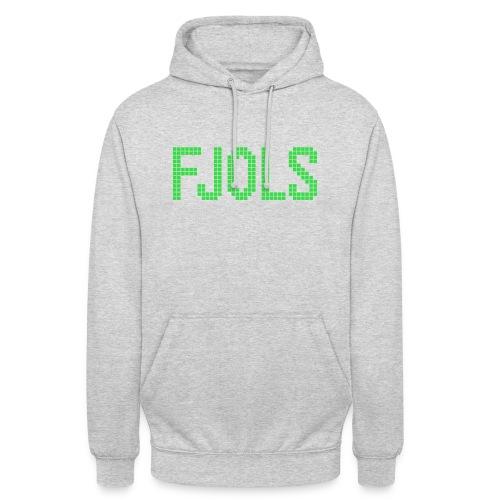 FJOLS Grøn - Hættetrøje unisex