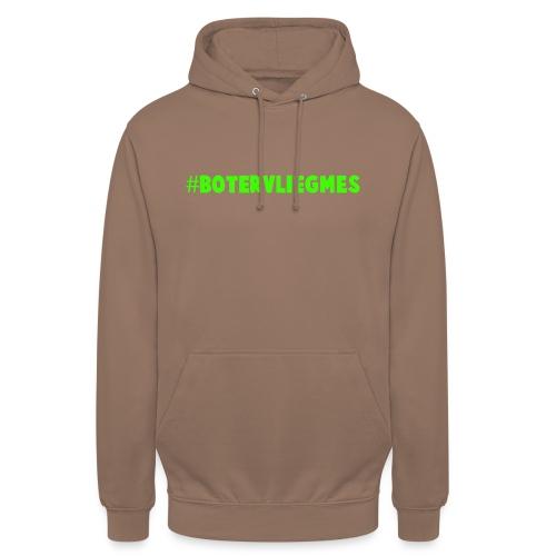 #botervliegmes T-shirt (mannen) - Hoodie unisex