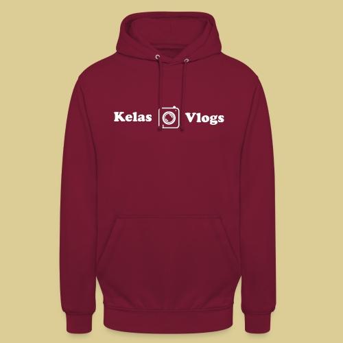 kelas vlogs new logo - Hættetrøje unisex