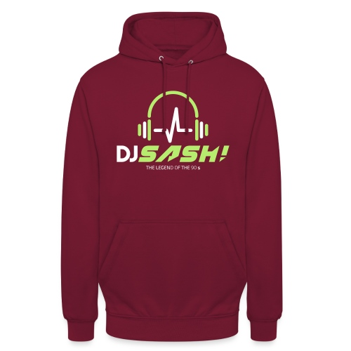 DJ SASH! - Headfone Beep - Unisex Hoodie