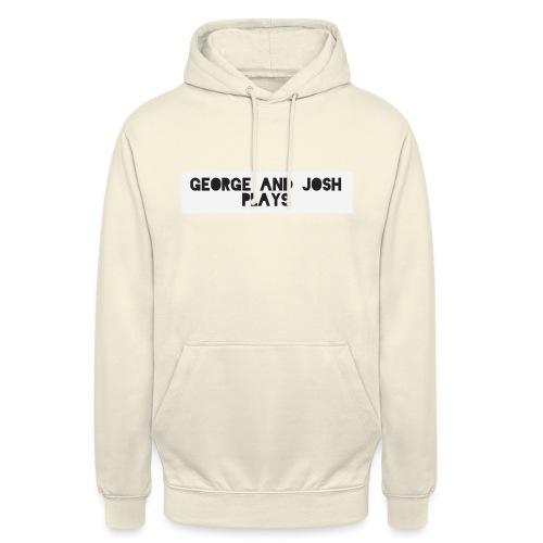 George-and-Josh-Plays-Merch - Unisex Hoodie