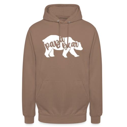 Papa Bear - für Eltern-Baby-Partnerlook - Unisex Hoodie