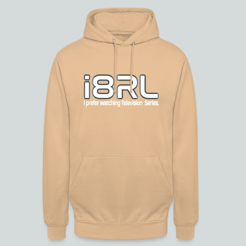 i8RL - I prefer watching Television series - Sweat-shirt à capuche unisexe