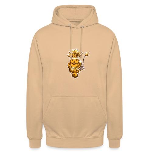 Goldene Gangster Kuh / Gold Thug Cow - Unisex Hoodie