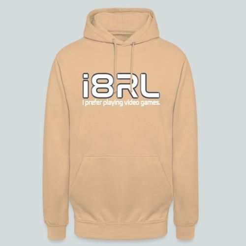 i8RL - I prefer playing video games. - Sweat-shirt à capuche unisexe