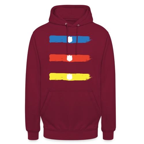 T Shirt Sagoma Scudo1 png - Felpa con cappuccio unisex