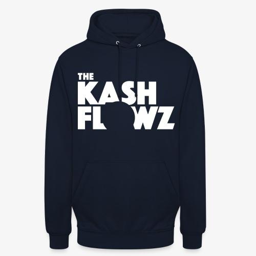 The Kash Flowz Official Logo White - Sweat-shirt à capuche unisexe