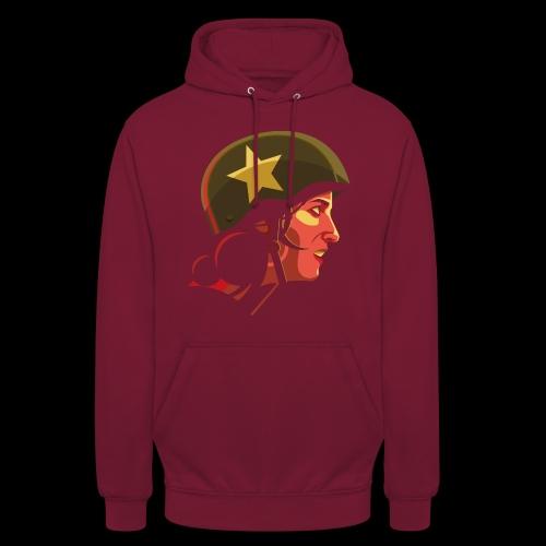 Roller derby girl - #Snowblack50 - Sweat-shirt à capuche unisexe