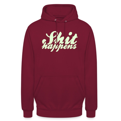 Shit Happens and Politics - Unisex Hoodie