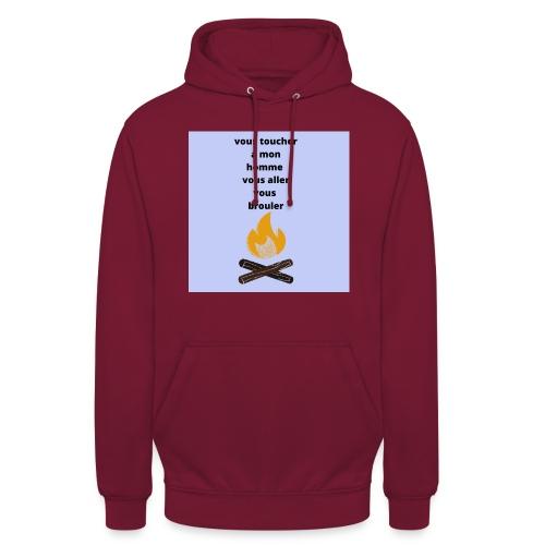 pour homme et femme - Sweat-shirt à capuche unisexe