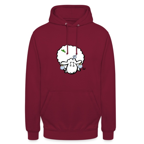 Christmas Tree Sheep - Unisex Hoodie