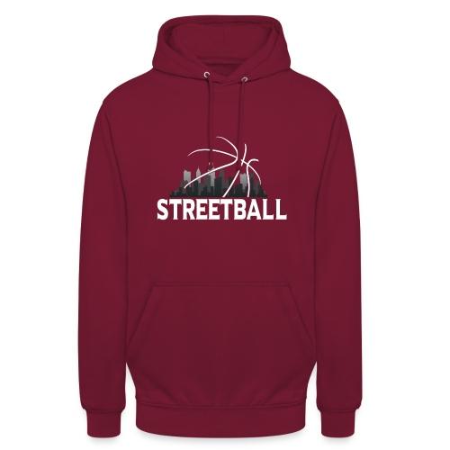 Streetball Skyline - Street basketball - Unisex Hoodie