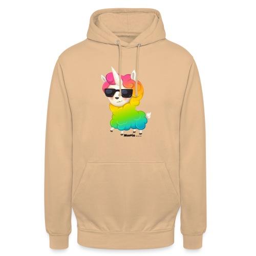 Regenboog animo - Hoodie unisex